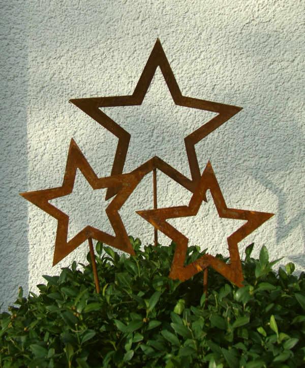 weihnachtsstern stecker stele 2 gr f r xmas deko offener. Black Bedroom Furniture Sets. Home Design Ideas